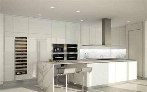 28 Modern White Kitchen Design Ideas (Photos)   Designing Idea