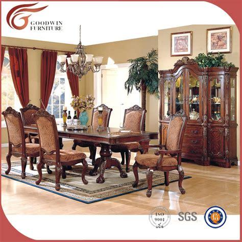 comedores antiguos en venta estilo cl 225 sico de lujo tallada a mano juego de comedor