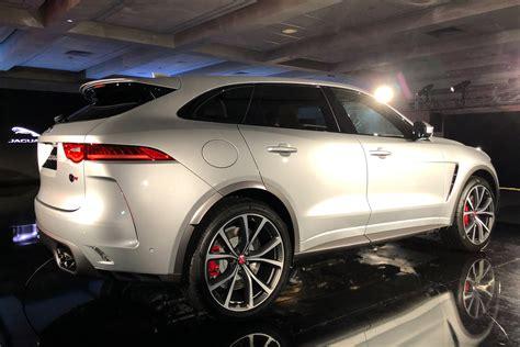 Jaguar F Pace Picture by New Jaguar F Pace Svr Revealed Pictures Auto Express