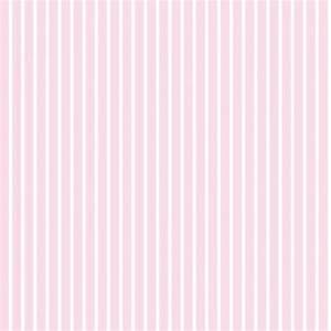Designer Selection Bubblegum Stripe Wallpaper Pink / White