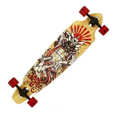 Drop Deck Longboard Landyachtz by Landyachtz Battle Axe Drop Thru Complete Carving Longboard