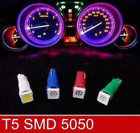 T5 Light Bulbs by Led T10 T5 Y Cap Para Tablero Varios Colores 25 00