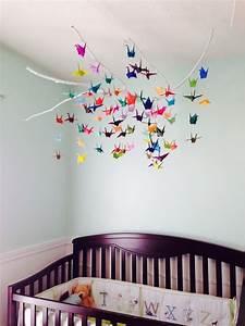 Mobile Basteln Origami : baby mobile selber basteln aus papier ideen und anleitung ~ Orissabook.com Haus und Dekorationen