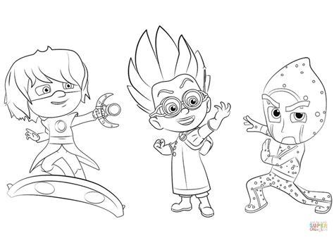 Kleurplaat Roblox Dj by Pin De Konpanya Kartoons En Pjmasks Heroes En Pijamas