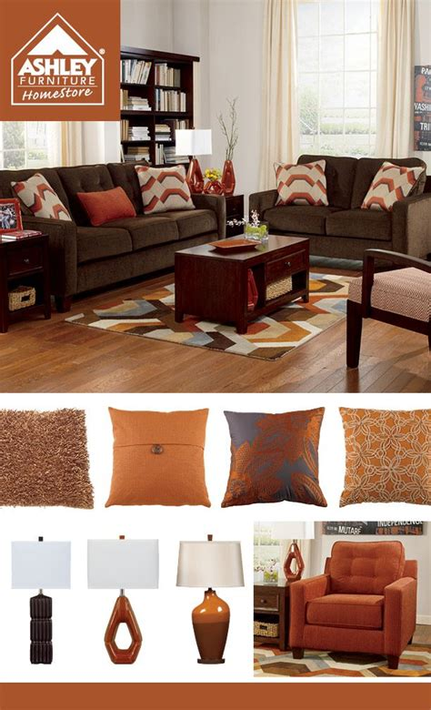 chocolate brown living room ideas 25 best ideas about orange living rooms on