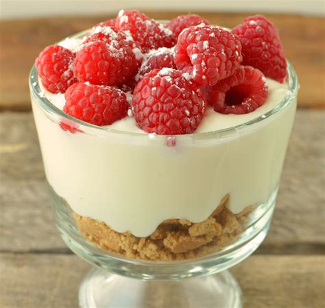 in the kitchen 3 step raspberry cheesecake healthy ideas for