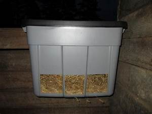 Round Hay Feeder For Goats
