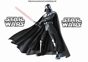 coloriage Dark vador de star wars et pour gommettes,
