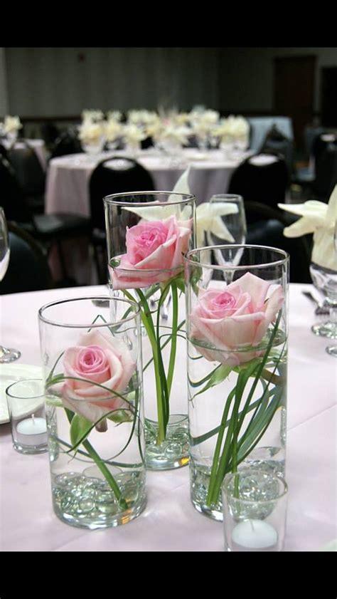 Single Flowers In Skinny Vases In 2020 Wedding Table