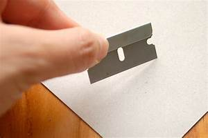 How To Clean A Rusty Razor Blade  5 Steps  With Pictures