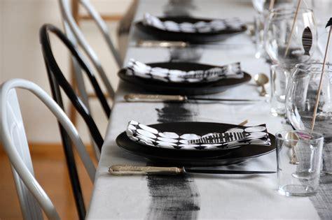 Schwarz Weiß Tischdeko by Schwarz Wei 223 E Tischdeko Roomilicious
