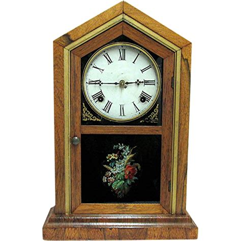 mantle l model 23 waterbury florence model mantel clock fully restored from