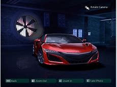 Need For Speed Carbon Acura NSX 2017 NFSCars