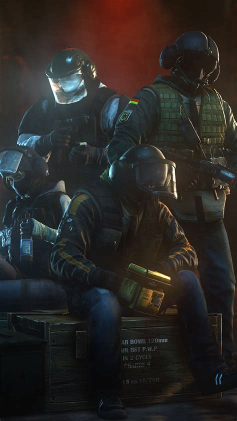 tom clancys rainbow  siege gsg  german operators full hd  wallpaper