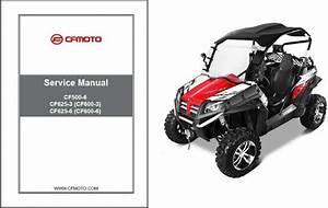 Cfmoto Terracross Z6 Z6ex Z5 Cf625-3 Cf625-6 Cf500-6 Service Repair Manual Cd For Sale