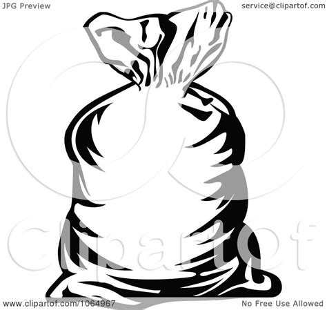 clipart money bag outline royalty  vector