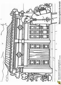 Maison Japonaise Dessin : coloriage maison monde chinoise sur ~ Melissatoandfro.com Idées de Décoration