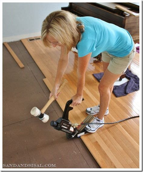 how to install hardwood floors installing hardwood floors