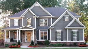 Traditional American Home Photo Gallery by Home Plan Homepw12862 3054 Square Foot 5 Bedroom 4
