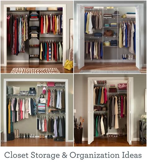 Wardrobe Closet For Small Spaces by Make The Most Of Your Closet Space With These Storage