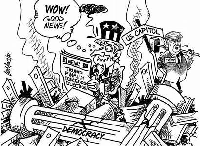 2021 Jamaica Gleaner January Saturday Cartoon Cartoons