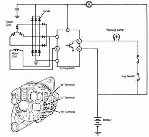 Wiring Diagram Alternator Charging