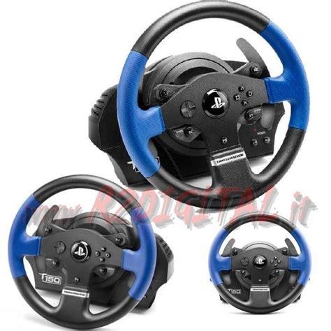 volante e pedaliera pc volante pedali thrustmaster t150 rs pc ps3 ps4 pedaliera