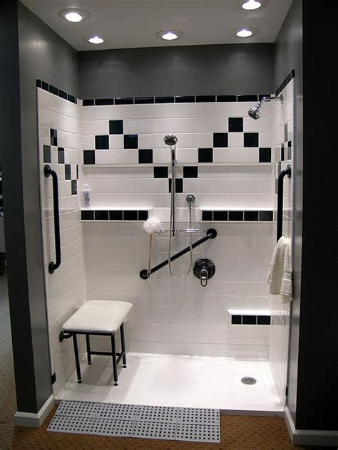 accessible showers   bath