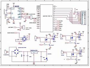 Arduino Based Smart Home Automation  Circuit Diagram In 2019