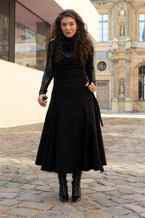 lorde  christian dior fashion show  paris hawtcelebs