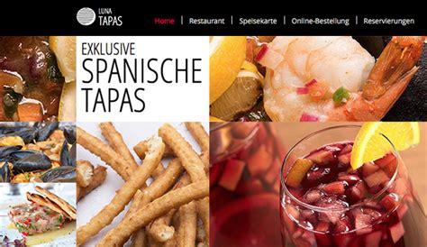 html homepage vorlagen fuer restaurants essen wix