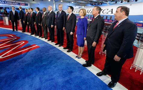 Judging By Last Night's Debate, The Gop Race Is Only