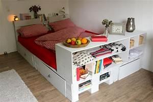 Betten Aus Paletten : palettenbett selber bauen anleitungen ideen ~ Michelbontemps.com Haus und Dekorationen