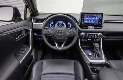 toyota rav hybrid interior   suvs
