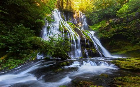 waterfall landscape pictures waterfall river landscape nature waterfalls wallpaper 2560x1600 682166 wallpaperup