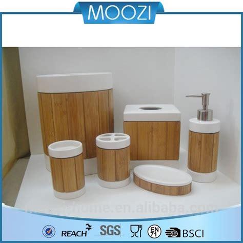 grosshandel gemalt bad accessoires bambus und holz