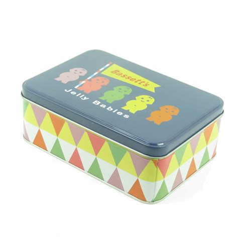 retro storage tins kitchen jelly babies family storage tin retro vintage 4831