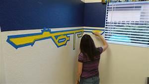 Star Wars Room Paint Tutorial Kid's room decor ideas