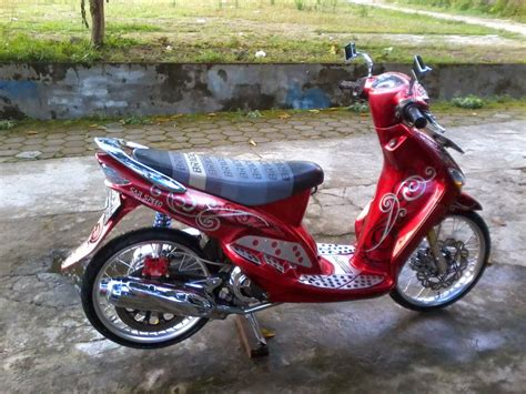 Modifikasi Motor Yamaha Mio J by Foto Modifikasi Motor Mio J Terbaru 2013 2014 Simple