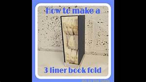 Book Folding Instructions  How To Make A 3 Liner Book Fold