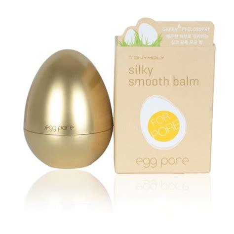 tonymoly egg pore silky smooth balm  korean skincare