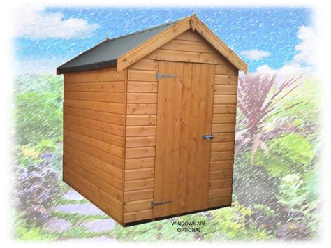 Apex Deluxe Shiplap Shed