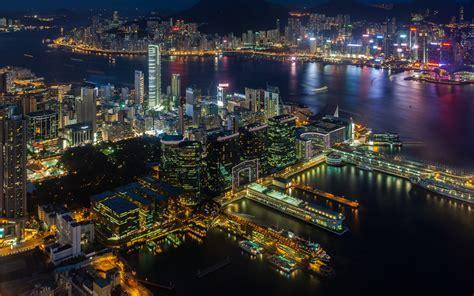 San Francisco Christmas Wallpaper Victoria Harbour From Hong Kong Hd Wallpapers Wallpapers13 Com
