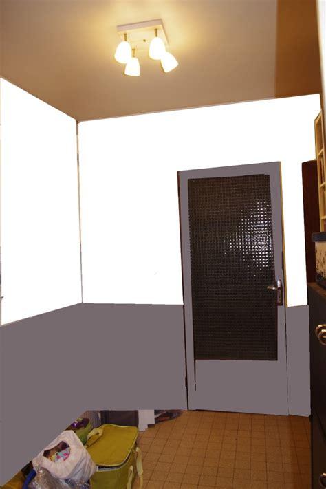 comment peindre une chambre en deux couleurs dégagement vers chambre et garage à peindre help couleurs