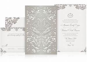 lace laser cut wedding invitation wedding stationary With luxury wedding invitations california
