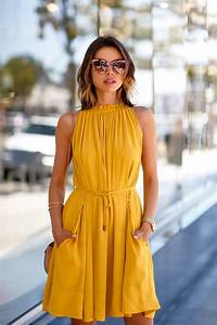 Stylish Yellow Dresses for Women Styling u2013 Designers Outfits Collection