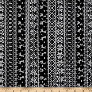 Winter Essentials II Knitted Sweater Black - Discount
