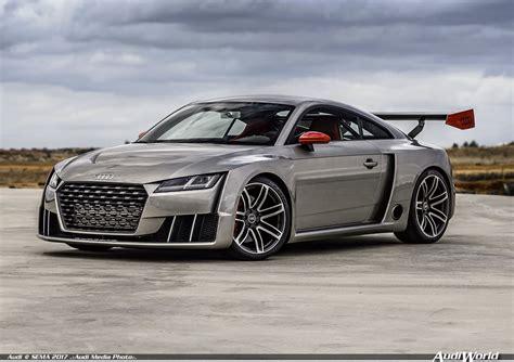 Audi Sport Performance Parts And Audi Tt Clubsport Turbo