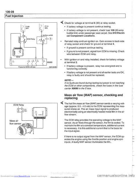 bmw e39 fuse relay diagram glasply mercruiser wiring diagram
