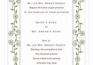 Wedding invitation wording wedding invite template excel for Wedding invitations excel templates
